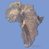 Elephant Africa - Women's Tri-Blend T-Shirt