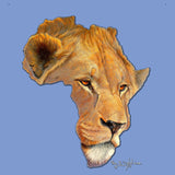 Lion Africa - Adult Tri-Blend T-Shirt