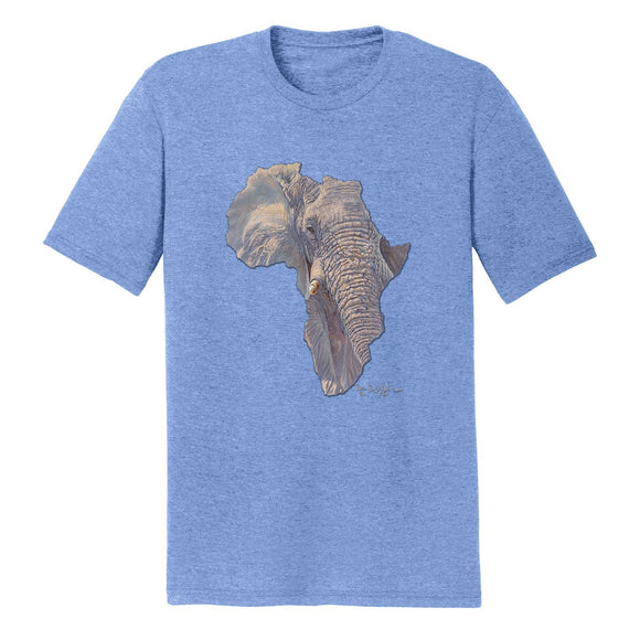 International Elephant Foundation - Elephant Africa - Adult Tri-Blend T-Shirt