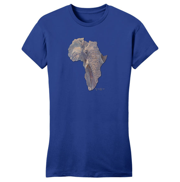 International Elephant Foundation - Elephant Africa - Women's Fitted T-Shirt