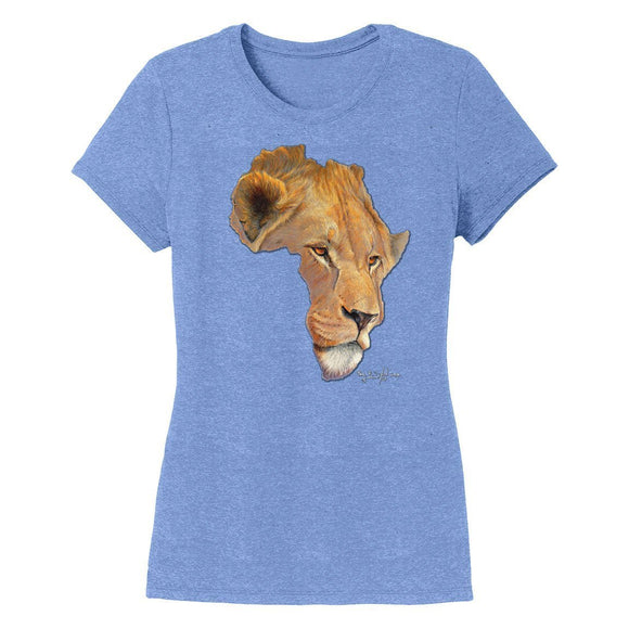 Lion Africa - Women's Tri-Blend T-Shirt