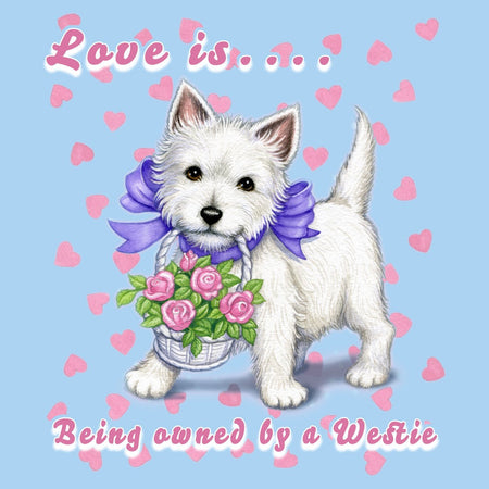 Love is Westie - Kids' Unisex T-Shirt