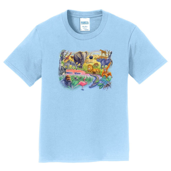 African Animals - Kids' Unisex T-Shirt