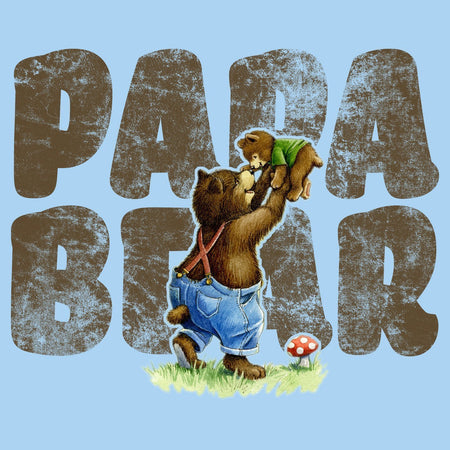 Papa Bear and Cub - Adult Unisex T-Shirt