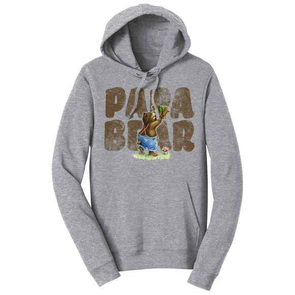 Papa Bear and Cub - Adult Unisex Hoodie Sweatshirt