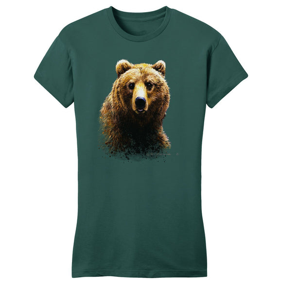 Grizzly Bear - Women's Fitted T-Shirt