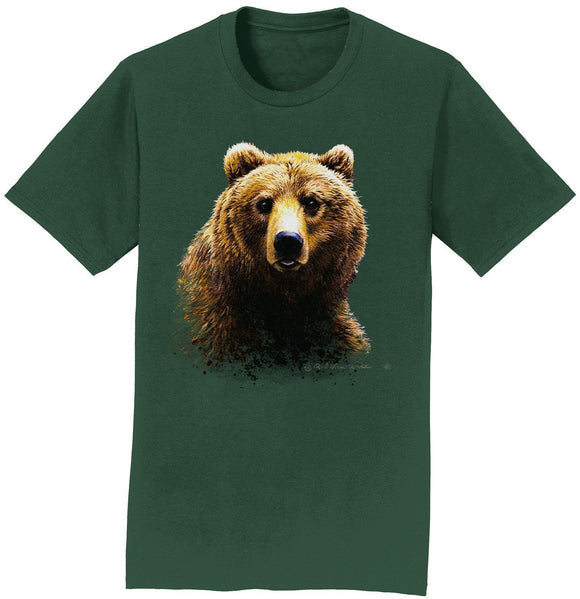 Grizzly Bear - Adult Unisex T-Shirt