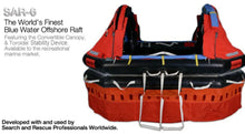 Load image into Gallery viewer, SAR-6 Person Liferaft