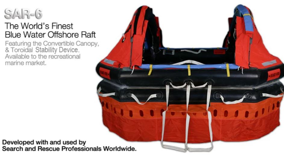 SAR-6 Person Liferaft