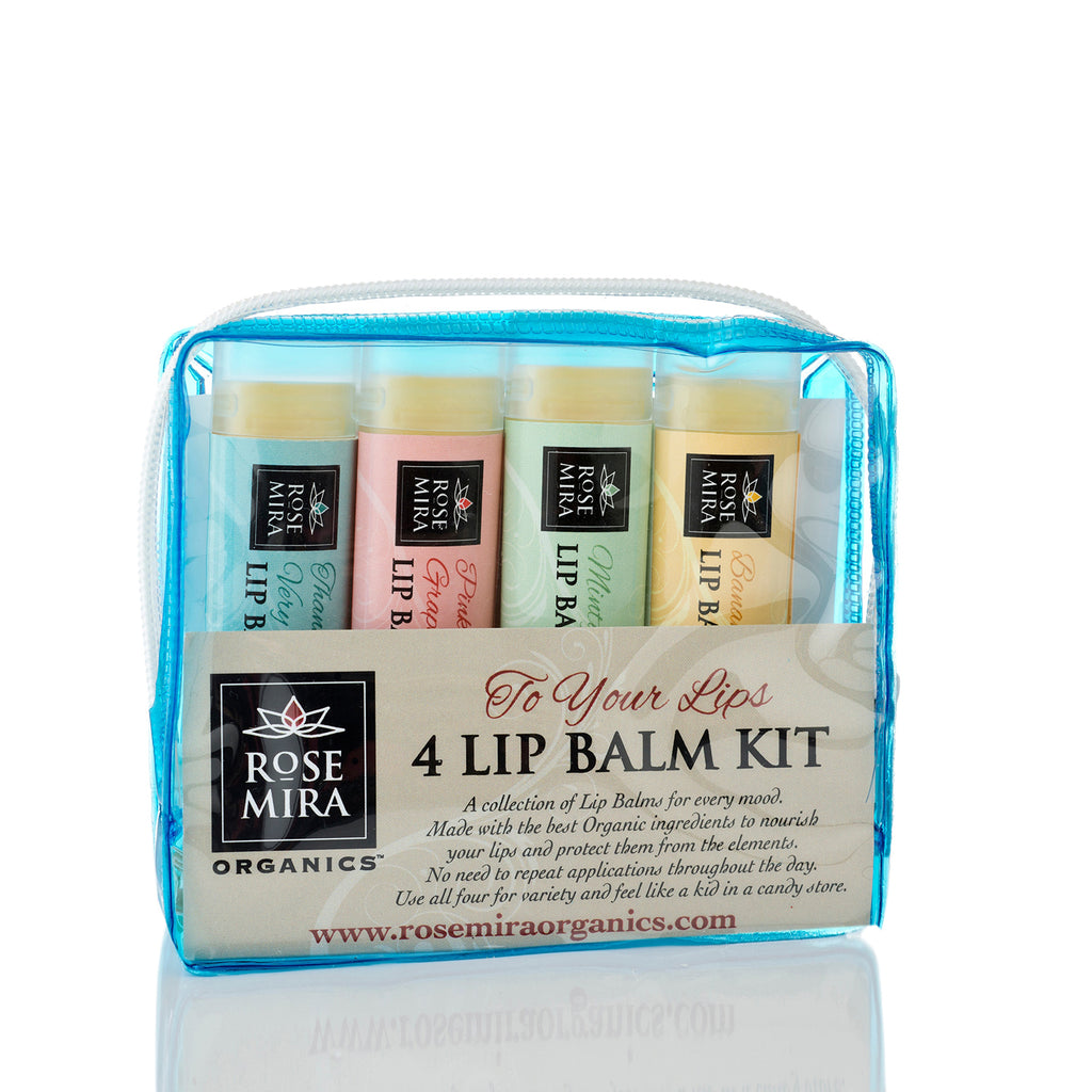 To Your Lips - 4 Lip Balm Kit