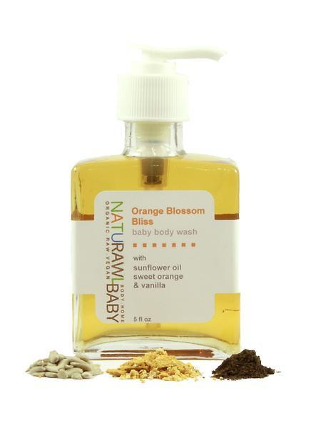 Orange Blossom Bliss Liquid Baby Body Wash