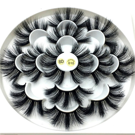 3D mink natural eyelashes