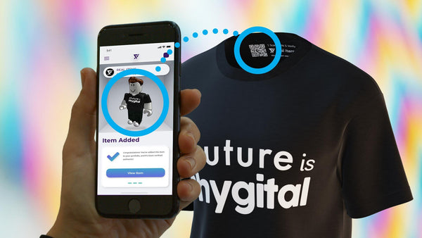 future is phygital real items shirt