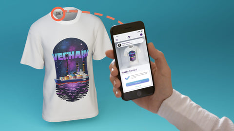 real items smart label, serialized qr code
