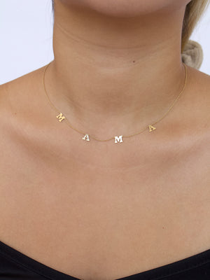 MAMA Choker Necklace