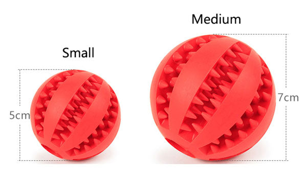treat ball sizes specification