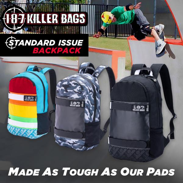 187 Killer Bags - Made As Tough As Our Pads
