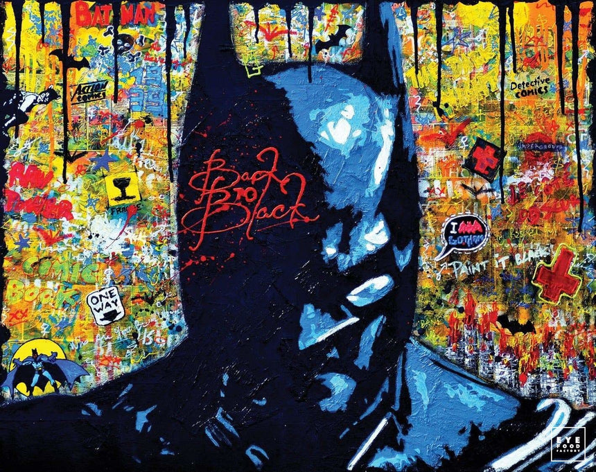 Back to Black - Éditions Limitées - 120x95cm, 60x47.5cm, @bestsellers, Batman,
