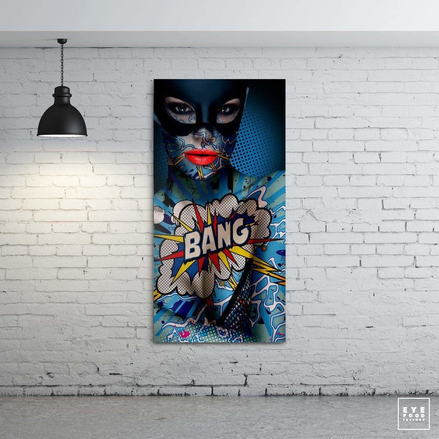 Cat woman - Éditions Limitées - 150x75cm, Bang, Batman, BD, Catwoman