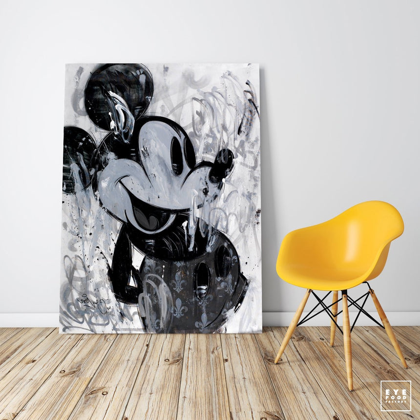 Grey Shades - Éditions Limitées - 120x90cm, 60x45cm, @bestsellers, Cartoon,