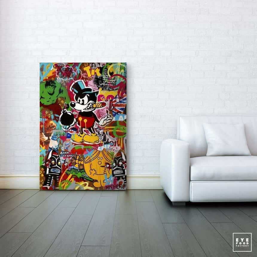 My Hero - Éditions Limitées - 120x80cm, 60x40cm, Angry, Bombe, Born Wild