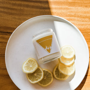 Meyer Lemon Meringue Candle