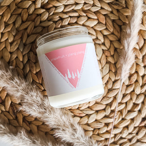 Grapefruit + Ylang Ylang Candle