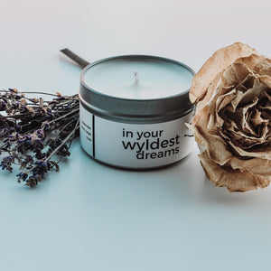 In Your Wyldest Dreams Candle