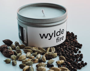 Wylde Fire Candle