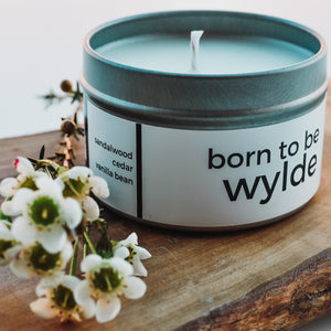 Born to be Wylde Candle