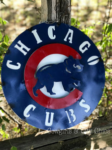 Cubs Small Sign
