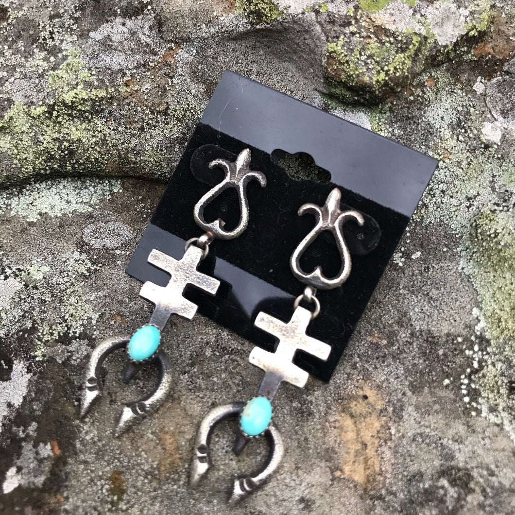 Sterling Kingman Earrings