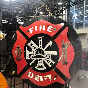 Fire Department Small Sign
