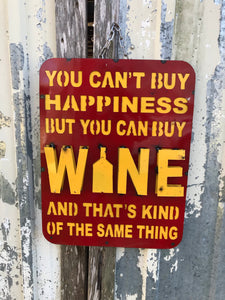 Wine is Happiness