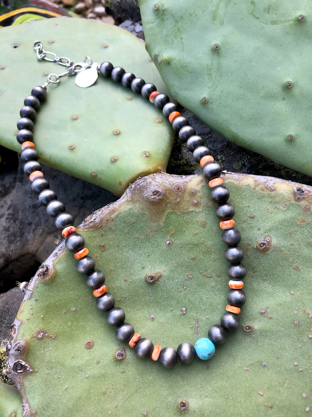 Santa Fe Navajo Pearl Necklace