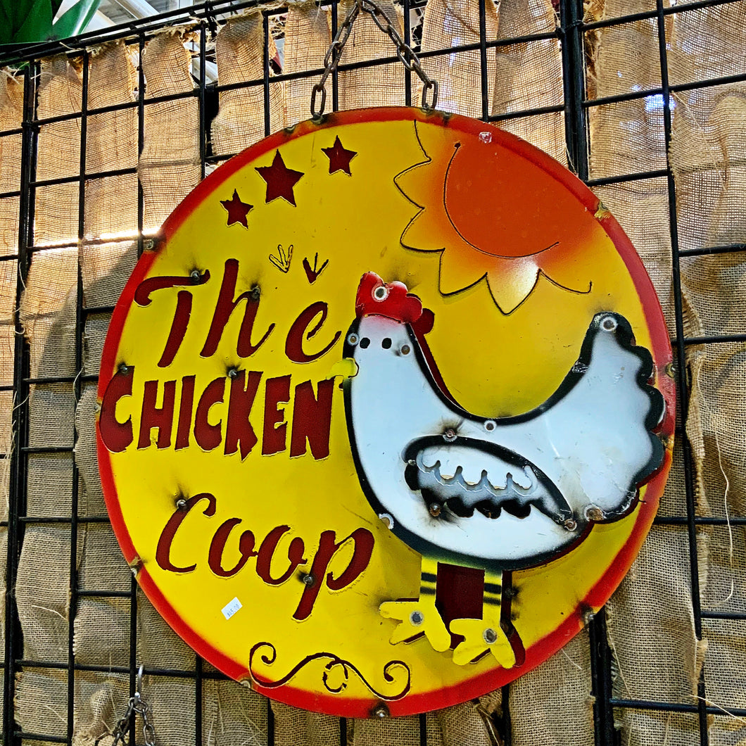 Chicken Coop Large Sign