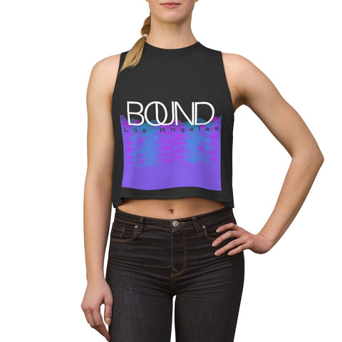 BOUND Sound Waves Crop Top
