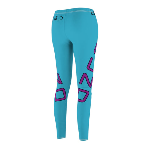 Limited Edition - BOUND Ice Cream Shoppe Blue Leggings