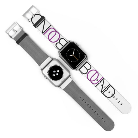 BOUND After Party (Purple Accent) - Apple Watch Band