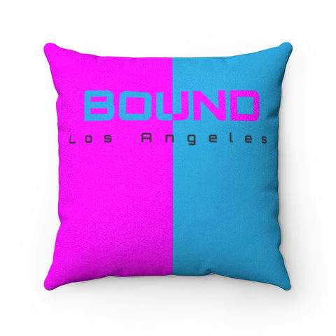 BOUND BFF Faux Suede Square Pillow