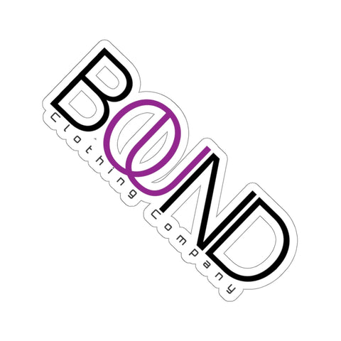"BOUND Clothing Co 6"" Sticker"