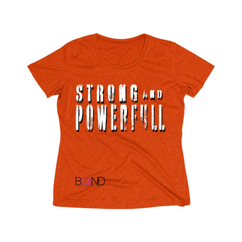 Motivation Tee (Strong) - Women's Heather Wicking Tee