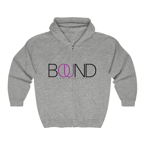 BOUND Icon Series - Heavy Blend™ Full Zip Hoodie