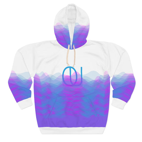 BOUND Sound Waves Unisex Pullover Hoodie