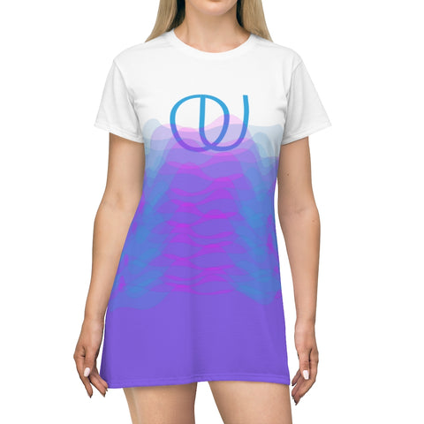 BOUND Sound Waves T-Shirt Dress