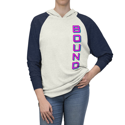 BOUND Born Ready Unisex Lightweight Tri-Blend Hoodie