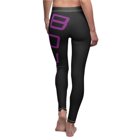 BOUND Flex Line Leggings - Black/Grape