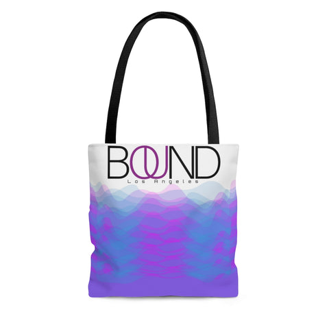 BOUND Sound Waves - Full Print Tote Bag
