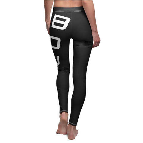 BOUND Flex Line Leggings - Black/White