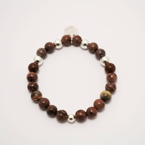 Yoga Gemstone Bracelet Set